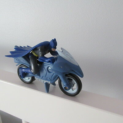 BATMAN BAKERY Crafts PVC DC COMICS BATCYCLE FIGURE CAKE TOPPER