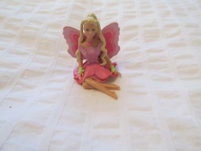 BARBIE FAIRYTOPIA ELINA MATTEL DOLL Cake TOPPER DECOPAC 2005 PVC Figure