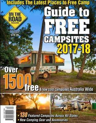 2017-2018 Guide To Free Campsites New Edition Caravan Camping RV Book Travel