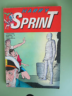 HARRY SPRINT N° 5 de 1977 SAGEDITION