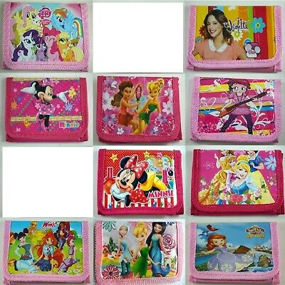 HOT Children Character Wallet, Purse, Coin Bag, Party Bag, Stocking Filler, Gift