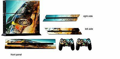 DIRT RALLY  ps4 Skin Decal Stickers Playstation 4 Console & Controller