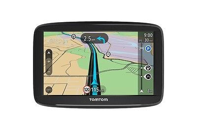"Navigatore Tom Tom LCD 5"" START 52 Europa Occidentale Agg. Mappe a vita! Autovel"