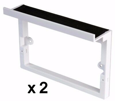Socket Shelf For mobile phones and tablets during charging Electrical 2 gang x2