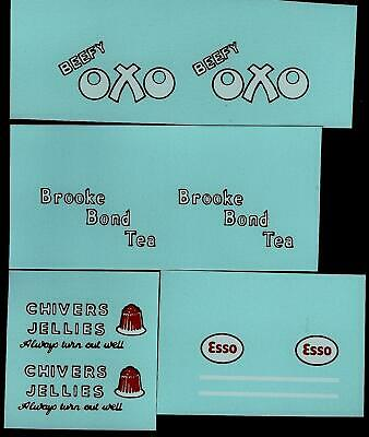 DINKY No 31a-d/450-455 TRANSFERS/DECALS