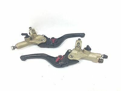 Ducati Brembo Front Brake & Clutch Master Cylinders CRG Levers 748 996 998