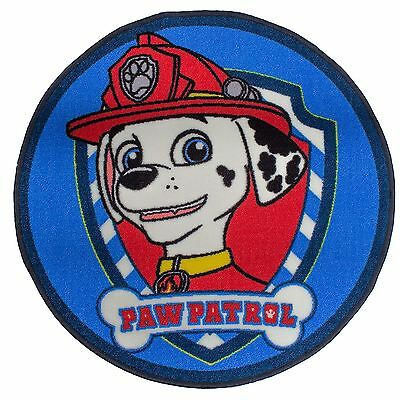 Official Paw Patrol Pawsome Kids Floor Rug Blue Official Bedroom Decor