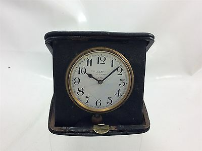 Cooke & Kelvey Calcutta Travel Clock 8 Day Movement Working Order