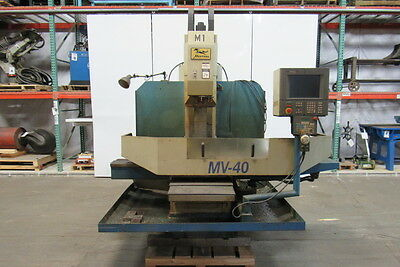 """MIGHTY USA MUSTANG MV-40 3 Axis CNC Vertical Milling Machine 14""""x52"""" Table"""