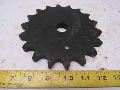 """Martin 80-18 #80 Single Row Sprocket 1"""" Bore to Size 18 Tooth"""