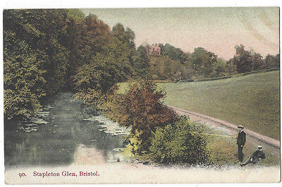 BRISTOL Stapleton Glen, Old Postcard Postally Used 1906