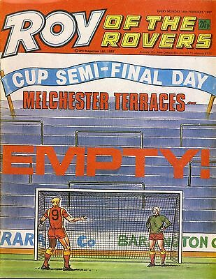 Roy of the Rovers Comic 14th February 1987 ref88