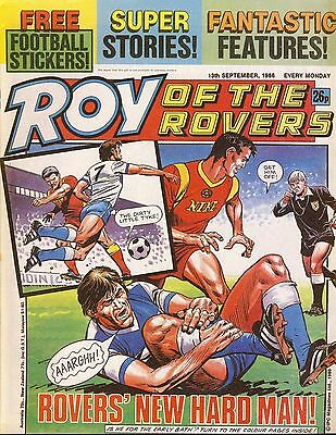 Roy of the Rovers Comic 13th September 1986 ref81