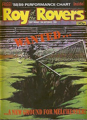 Roy of the Rovers Comic 10th September 1988 ref70