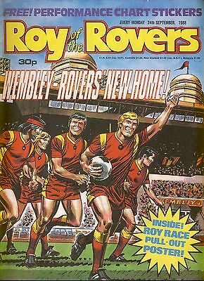 Roy of the Rovers Comic 24th September 1988 ref71