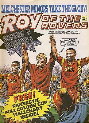 Roy of the Rovers comic 30th January 1988 ref035