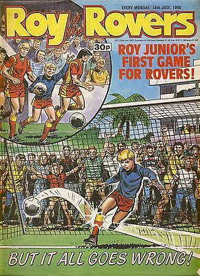 Roy of the Rovers comic 16th July 1988 ref017