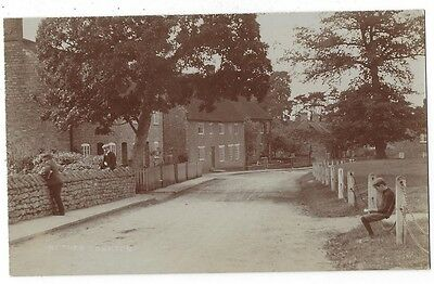 NETHER COMPTON Dorset, View in the Village, RP postcard, Unused