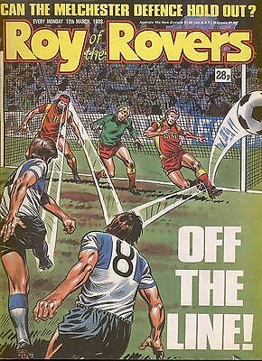 Roy of the Rovers comic 12th March 1988 ref028