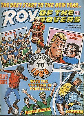 Roy of the Rovers comic 2nd January 1988 ref039