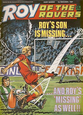 Roy of the Rovers comic 7th November 1987 ref068