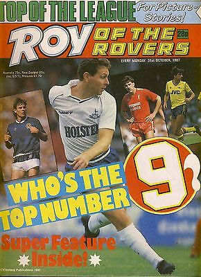 Roy of the Rovers comic 31st October 1987 ref067