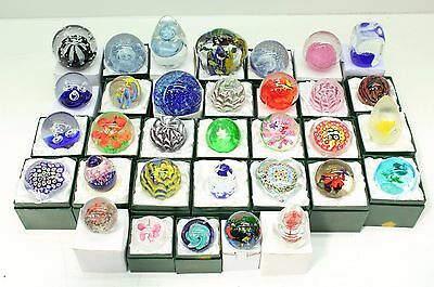 NEW Wholesale Lucky Dip Job Lot of 12 x Beautiful Handmade Paperweights FREE P&P