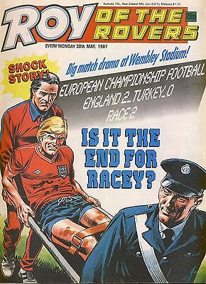 Roy of the Rovers comic 30th May 1987 ref058