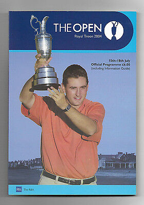 2004 British Open Golf Championship (ROYAL TROON) Official Programme