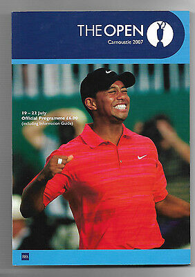 2007 British Open Golf Championship (CARNOUSTIE) Official Programme