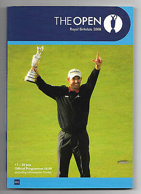 2008 British Open Golf Championship (ROYAL BIRKDALE) Official Programme