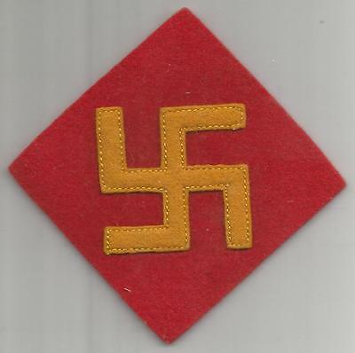 Rare 1st Design WW 2 US Army 45th Infantry Division Wool Patch Inv# A466
