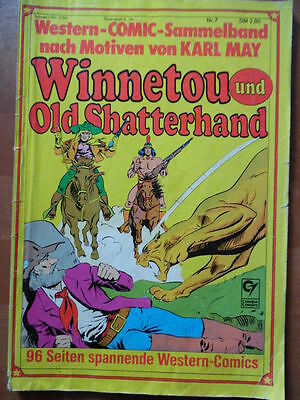 WINNETOU UND OLD SHATTERHAND Sammelband Nr. 7 --- Karl May Western-Comic Condor