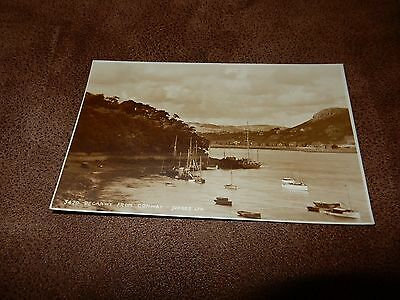 1930's Judges  postcard- Deganwy from conway - North Wales