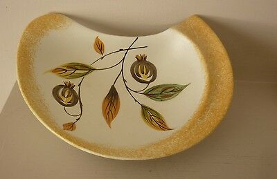 Vintage free form Hand Painted E Radford Ceramic Pin Dish.