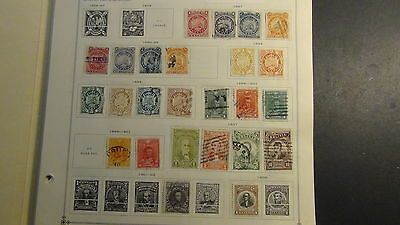 Bolivia stamp collection on Scott International pages '94