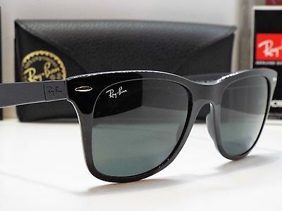 Authentic Ray-Ban RB 4195 601/71 LITEFORCE Black Green Classic Sunglasses $230