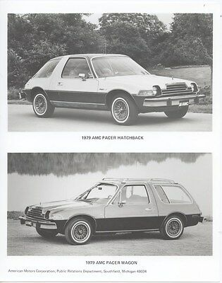 1979 AMC Pacer Hatchback & Wagon Factory Photo ub4904