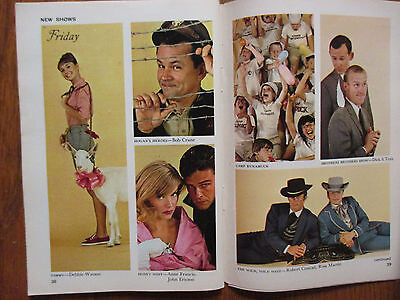 Sept-1965 FALL PREVIEW TV Guide(WILD WILD WEST/I DREAM OF  JEANNIE/LOST IN SPACE