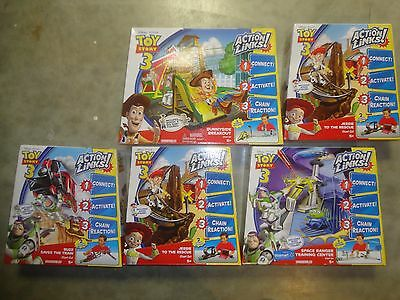 Toy Story Action Link Sets, Lot Of 5 Sets, All Unopened