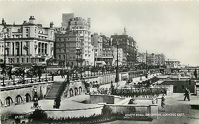 s07689 King's Road, Brighton, Sussex, England RP postcard unposted