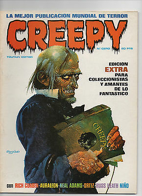 CREEPY Comics de terror