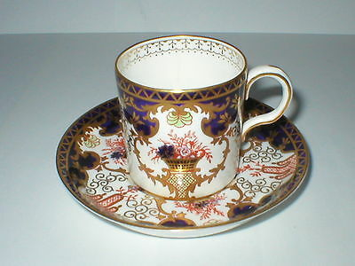 ROYAL CROWN DERBY 3788 IMARI COFFEE CUP / CAN & SAUCER 1st QUALITY c1926