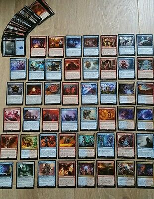 Magic Izzet Guilden Kontrolle Commander Deck 100 Karten deutsch! 25 Rares/Mythic