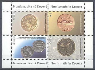 Kosovo 2006 S/s Ancient Coins Mnh Very Fine