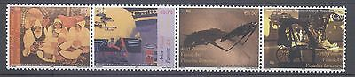 Kosovo 2008 Visual Arts Strip Four Mnh Very Fine