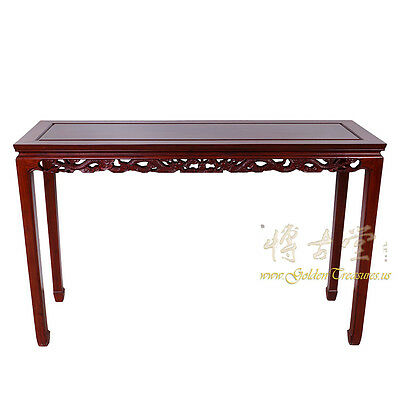 Vintage Chinese Rosewood Entry Console/Sofa Table 16LP80