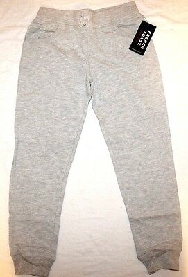 French Toast Big Girls' Jogger Pant Heather Grey 7/8 New NWT