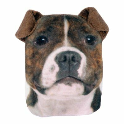 NEW Staffy Dog Hand Warmer Pocket Hotty With Removable Cover