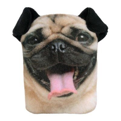 NEW Pug Dog Hand Warmer Pocket Hotty With Removable Cover